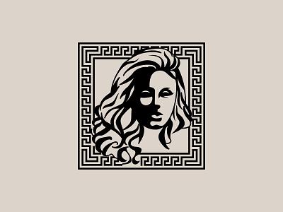 Woman Silhouette Illustration & Fashion Logo Mark Design luxury clothing fashion versace branding logo logo design mark logo mark sketch illustration silhouette woman