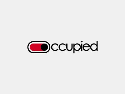 Occupied Wordmark Letter Mark Logo Design lettermark logo type sign airline branding logo logo design logo mark mark wordmark vacant occupied