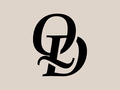 Q + D Luxury Fashion Monogram Logo Mark Design type design apparel logo clothing logo fashion logo branding dq qd monogram letter mark logo mark logo design logo