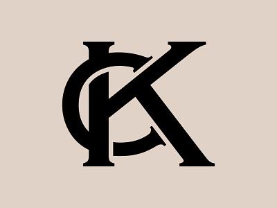 CK Monogram Logo & Branding Design for Fashion Company clothing fashion letter logo monogram branding logo design mark letter mark kc ck logo mark logo