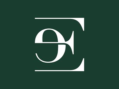 Letter E Monogram Logo Design / Fashion Clothing Company branding modern logo minimal minimalist mark logo mark logo design logo monogram logo monogram e logo letter e