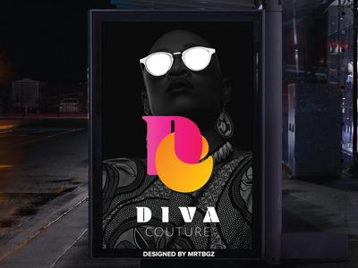 DIVA Couture Logo Design