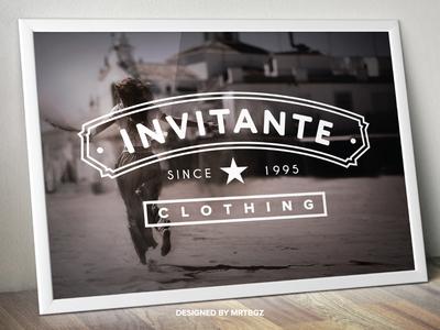 Invitante Clothing Logo Design