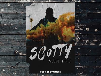 Scotty San Pie Logo Design