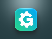 """Icon for an app called """"App Icon Generator"""""""