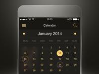 Flat App UI