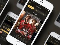 Cinema Mobile App UI