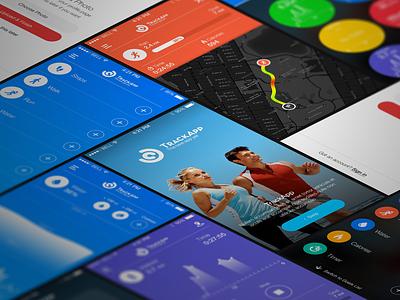 Fitness Tracker App water gps map tracker sport run fitness