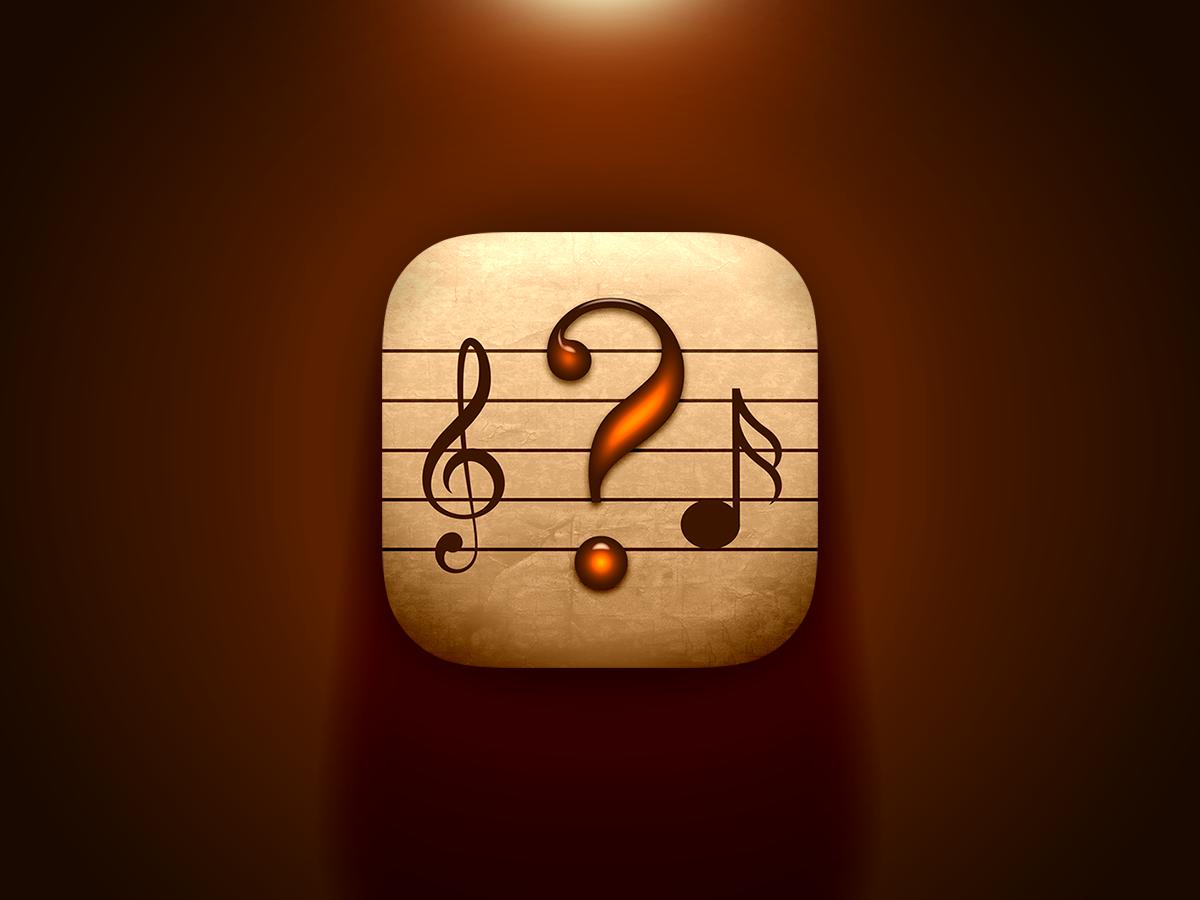Classical Music Quiz App Icon by Amine Kaddari on Dribbble