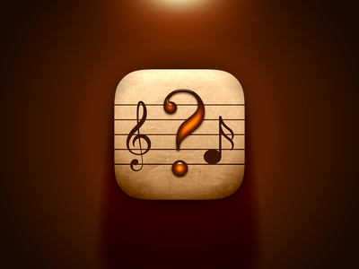 Classical Music Quiz App Icon app logo music logo icon app icon