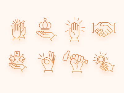 Hands Icons hands hands icons website icons icons ecommerce