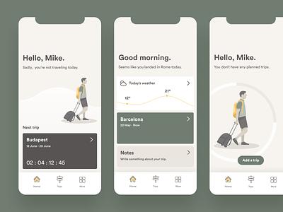 Datatrip — Dashboard traveling travel app ux  ui uxui ux statistics data data visualization travel datatrip