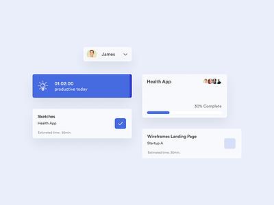 Slot — Dashboard Components design team teams project dashboard manager slots timeline web app desktop work work tool time slot productivity app productive productivity