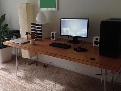 Workspace workspace desk battle station