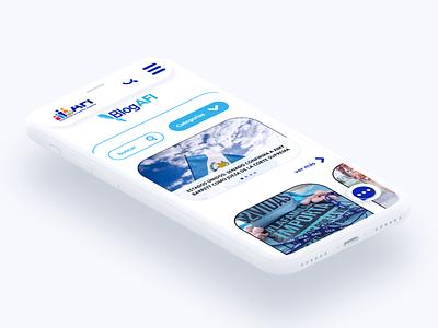 Web / Mobile UI - Responsive graphic design diseño grafico mobile view responsive website product design user experience design blog design mobile web branding logo ui