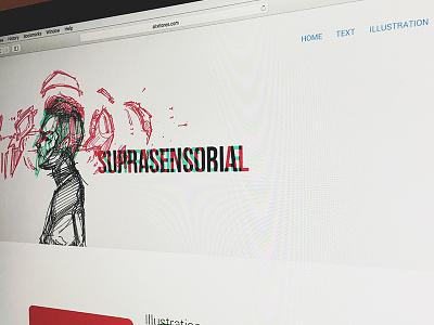 Sensorial experimental design illustration ui design javascript css html