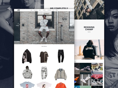 DTS Landing Page sneakerhead sneakers shopify home page landing page
