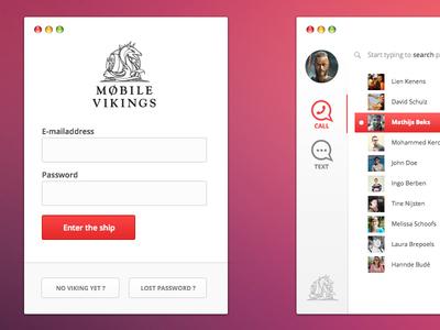 Mobile Vikings Concept