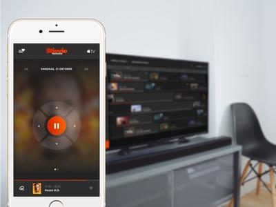 Stievie concept - remote tv