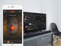 Stievie concept - remote