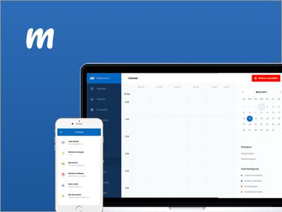 New project coming... webapp app calendar crm dashboard