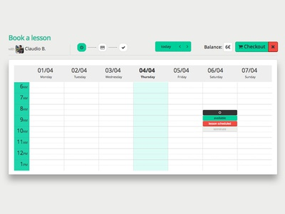 Fluentify booking sessions (beta 2013)