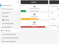 Administration - Account overview