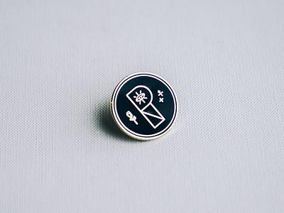 All seeing Eye pin magic p analog polar notion secrets lucky pin enamel pin