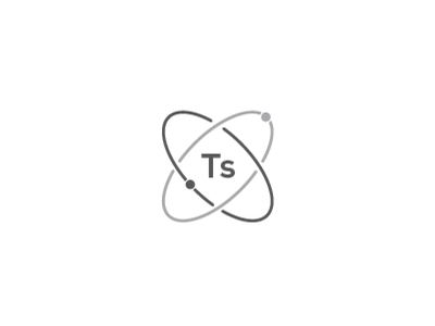 It's Science science atoms brandmark logo