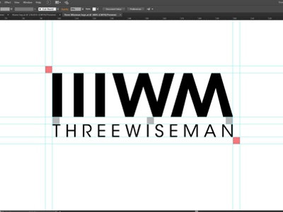 Three Wiseman Logo Design Process