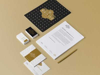 Merlin Gold Logo Application