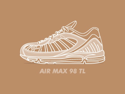 c32dfcd967 official store air max 98 tl sneaker illustration airmax sneaker  illustration b9c16 9ad12