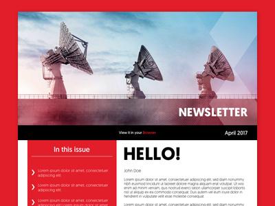 Bcx E Newsletter ux design ui design enewsletter