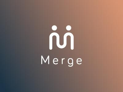 Logo Design - Merge App branding brand design logo