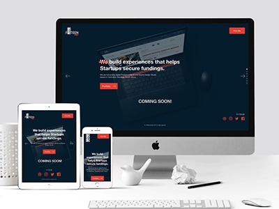 12fifteen Studio Coming Soon Page landing page coming soon page website ux design ui design ux ui