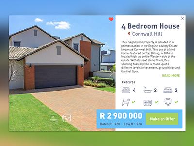Real Estate Property UI