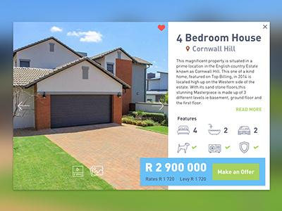 Real Estate Property UI real estate ui ui ui design
