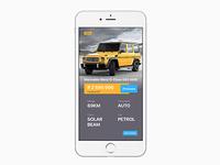 Car Dealer UI