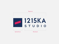 1215ka Studio Branding Design