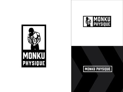 Monku Physique Branding personal branding fitness logo logo logo design brand agency brand identity branding branding design