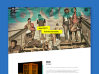 Loxyion Conexyion Website Design