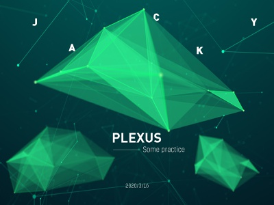 Plexus Space wallpaper science space particular adobe aftereffects green design