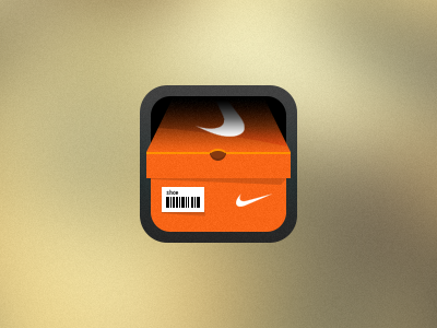 Nike Shoe Store Icon square shoes icon ios nike iphone shoe box