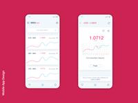 Exchange Rates App UI