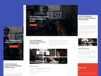 Flynn  - Premium onepage template for freelancers