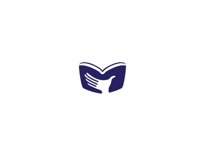 Reading Book Logo storybook story wisdom study education knowledge teacher student school library bookstore bookshop books book reading read abstract for sale logo logos