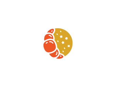 Croissant Moon Bakery Logo