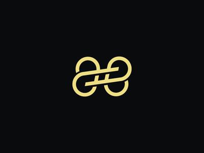 AE Hashtag Monogram Logo