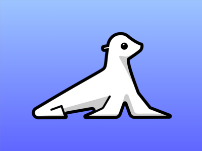 Sea lion icon   Dribbble Weekly Warm-up #4