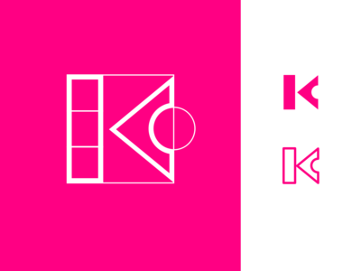 K letterform   Dribbble Weekly Warm-up #5